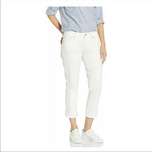 Lucky Brand white jeans Sweet Crop